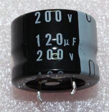 Nichicon GJ Snap-In Radial Electrolytic Capacitor 120µF 200V 105°C