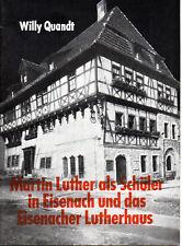 Martin-Luther-Ehrung der DDR - 1983  Martin Luther als Schüler in Eisenach