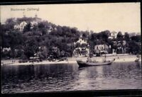 Postkarte AK sw Hamburg Blankenese Süllberg gelaufen 1907 Weltpostverein antik
