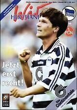 BL 98/99 Hertha BSC - 1. FC Nürnberg, 01.11.1998 - Poster Andreas Thom
