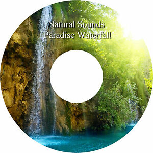 Natural Sounds Paradise Waterfall CD Relaxation Help Sleep Stress Anxiety Relief