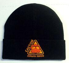YATTAMAN DOKURO INSIDE DANGER HAT CAP BLACK NERO CAPPELLO NEW NUOVA