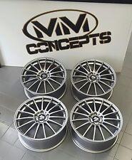 17 Zoll UA4 Alu Felgen für 7,5x17 et48 5x112 Titan für Audi VW Skoda Seat GTI RS
