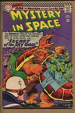 Mystery in Space #109 - Secret of the Sky God! - 1966 (Grade 6.0)