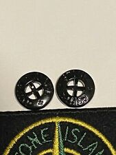Stone Island Replacement Buttons X2  ( 14mm Genuine )