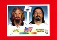 WC FRANCE '98 Panini 1998 - Figurina-Sticker n. 409 - LALAS-BALBOA - USA -New