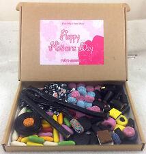 Liquorice Retro Gift Postal Box Mother's Day Flyers Wands Allsorts - Mum Design