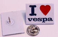 I LOVE VESPA PIN (MBA 590)