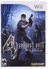 Resident Evil 4: Nintendo Wii Edition [Nintendo Wii Survival Horror Shooter] NEW