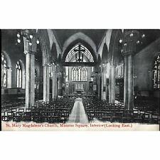 Postcard 'St. Mary Magdalene's Church, Munster Square'
