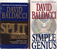 Complete Set Series - Lot of 6 King and Maxwell books by David Baldacci Split