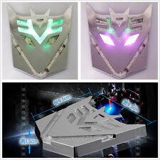 Space Transformers Robot Decepticons Power LED Flash Emblem Strobe Warning Light