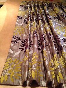 Clarke & Clarke Bolero Citrus F0320/02 Curtains Made To Measure Hand Sewn 6 Cols