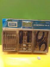 Rolson Diy Tool Kit - Mixed Set 26 Piece Mini Trifold UK