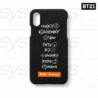 BTS BT21 Official Authentic Goods Fennec Lettering iPhone Case + Tracking Number