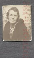 Vintage Photo Woman w/ Glasses in Photobooth 688983