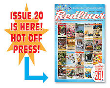 """Hot Wheels Redline MAGAZINE! """"The Redliner"""" ISSUE 20 by COWBUC33 BACK ISSUE!"""