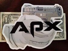 Beretta APX Pistol Authentic Sticker 92F DEVGRU SWAT NATO