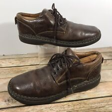 Born Brown Leather Casual Lace Up Oxford Shoes Men's Sz 10/44
