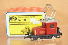 HAG 131 DC SBB CFF BROWN RANGIERLOKO CLASS Te 101 E-LOK LOCOMINT BOXED nj