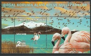 Turkey 2018 Birds MNH Block