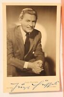 27628 Ross Editore Film Autografo Foto Ak Jupp Hussels Del 1935 Originale