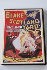 BLAKE OF SCOTLAND YARD  DVD (REGION FREE) -  RALPH BYRD