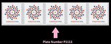 US 5130 Patriotic Spiral forever PNC5 MNH 2016