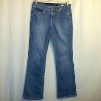Nine West Date Night Fit Bootcut Jeans Women's Size 6 Blue 28/6