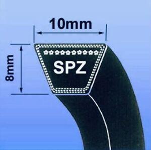 SPZ SEC V BELT (SPZ SECTION BRANDED 10 x 8MM V BELT ) - CHOOSE SIZE IN MM)