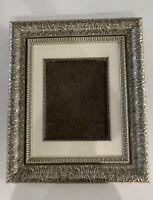 "Picture Frame Ornate Gold Gilt Holds 8x10"" Photo Wood 19x16"" Wall Victorian"