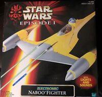 STAR WARS NABOO FIGHTER EPISODE 1  STARFIGHTER 1998 ships worldwide