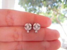 .87 Carat Diamond White Gold Earrings 18k codeEx37 sepvergara
