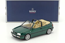 1 18 NOREV VW Golf 3 Convertible 1995 greenmetallic