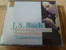 Johann Sebastian Bach - Brandenburg Concertos ANDREW PARROTT (NEW 4 CDS 1999)