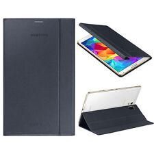 Nuevo Samsung Folio Libro Negro Funda Para Galaxy Tab S 8,4 pulgadas ef-bt700bbeg