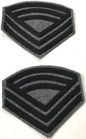 CIVIL WAR CS CSA CONFEDERATE SARGENT MAJOR RANK CHEVRONS-INFANTRY