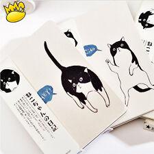 """Japanese Cat"" 1pc Notebook Sketchbook Cute Blank Paper Diary Journal Notepad"