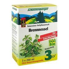 BRENNESSELSAFT Schoenenberger 3X200 ml PZN 00692104