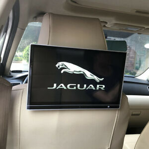 Wifi Bluetooth Android Car TV Headrest Monitor With 4K Video Player For Jaguar