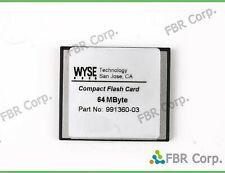Lot 10 Wyse CF 64MB CompactFlash Memory Card Compact Flash For Digital Camera