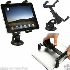 """Universal in Car Suction Mount Holder for iPad 4 3 2 1 Mini&tablets 7 to 11"""""""
