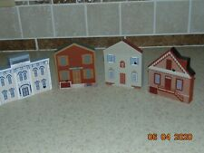 lOt Of 4~Cat'S Meow Village ~Duke Of Gloucester St Series, Williamsburg, 1994