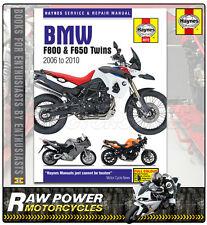 BMW F800S/ST 2006-2010 Haynes Manual (4872)