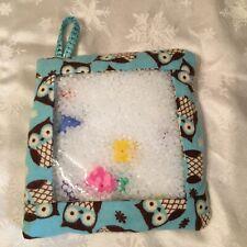 "8"" I spy bag sensory toy-OWLS fabric-NEW"