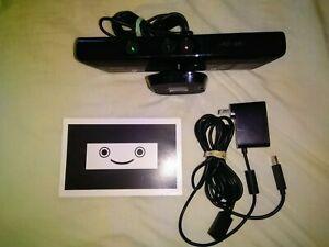 Microsoft Xbox 360 Kinect Sensor Bar, AC Adapter, Calibration Card Bundle