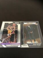 Panini Prizm Kobe Bryant Base Plus Highlights Retirement Refractor