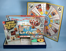 1957 Around the World in 80 Days Movie Edit. Board Game & Comic Book Jules Verne