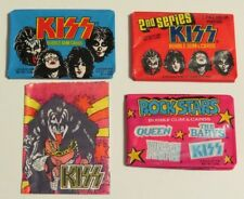 """KISS """"MASTER PACKS LOT"""" 4 UNOPENED TRADING CARDS PACKS AUCOIN"""
