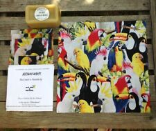 Birds Beeswax Wraps | STARTER PACK OF 4| Eco Friendly | Cockatoo, parrot
